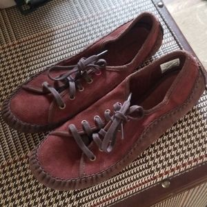NEW Patagonia Moccasin sneakers suede